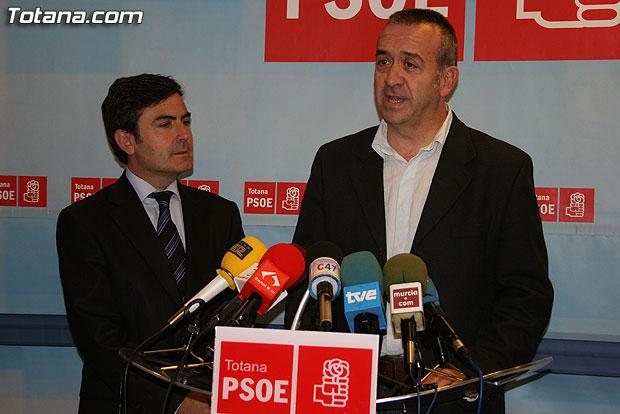 COMUNICADO DE PRENSA DEL PSOE SOBRE EL PLAN GENERAL DE ORDENACI�N URBANA, Foto 1