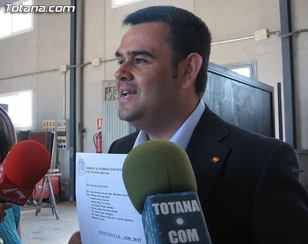 JOSÉ MARTÍNEZ ANDREO DIO SU OPINIÓN EN RELACIÓN A LA SENTENCIA DEL JUZGADO DE PRIMERA INSTANCIA NÚMERO 3 DE TOTANA, Foto 1