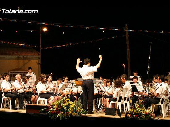 El festival de bandas de m�sica se celebr� por primera vez en la pedan�a de El Paret�n, Foto 1