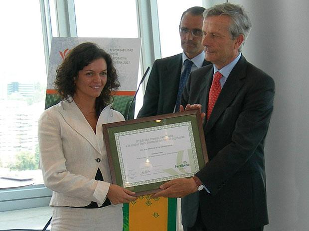 La investigadora totanera María de la Luz Cayuela gana el premio Fertiberia a la mejor tesis en temas agrícolas, Foto 1