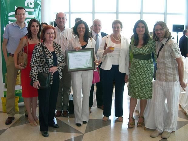 La investigadora totanera María de la Luz Cayuela gana el premio Fertiberia a la mejor tesis en temas agrícolas, Foto 3