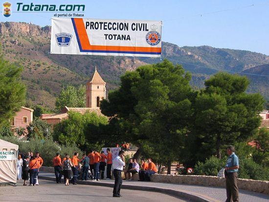 ALCALDE Y CONCEJAL AGRADECEN LABOR REALIZADA VOLUNTARIOS AGRUPACI�N LOCAL PROTECCI�N CIVIL EN EL ENCUENTRO REGIONAL DE LA SANTA   , Foto 1