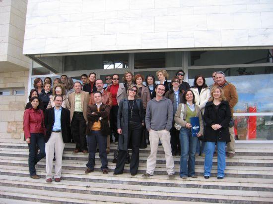 REPRESENTANTES DE LA RED PUNTOPYME VISITAN LAS INSTALACIONES DEL CENTRO TECNOL�GICO DEL M�RMOL EN CEHEG�N, Foto 1