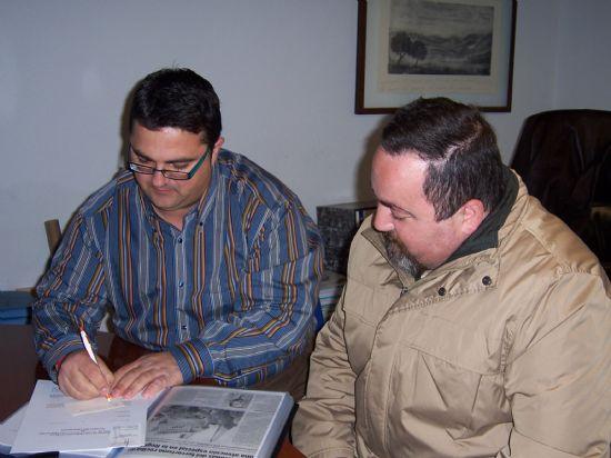 EL CONSISTORIO Y LA ASOCIACIÓN DE VÍCTIMAS DEL TERRORISMO DE LA REGIÓN DE MURCIA INICIAN LOS TRÁMITES PARA SUSCRIBIR UN CONVENIO DE COLABORACIÓN ENTRE AMBAS ENTIDADES CON EL FIN DE PALIAR LOS DAÑOS QUE SUFREN LAS VÍCTIMAS DE ESTOS DELITOS, Foto 2