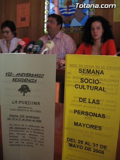 LA CONCEJAL�A DE SERVICIOS AL CIUDADANO ORGANIZA LA SEMANA SOCIOCULTURAL DE LAS PERSONAS MAYORES DEL 25 AL 31 DE MAYO, Foto 2