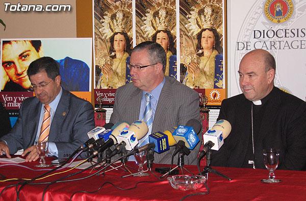 TOTANA.COM ASISTE AL ACTO DE PRESENTACIÓN DEL AÑO JUBILAR MARIANO EN HONOR A LA PURÍSIMA DE MAZARRÓN, Foto 3