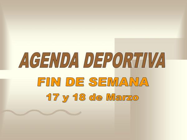 AGENDA DEPORTIVA FIN DE SEMANA (16/03/2007), Foto 1