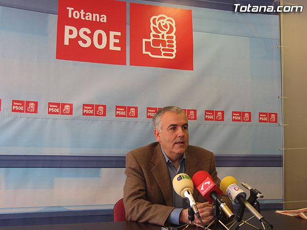 EL PSOE LE PIDE A JUAN PAGÁN QUE PRESENTE SU DIMISIÓN COMO PRESIDENTE DE LA COMUNIDAD DE REGANTES DE TOTANA, Foto 1