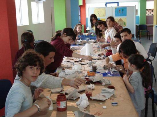 EL TALLER DE ARTES PLÁSTICAS REALIZA ACTIVIDADES CON LOS NIÑOS, NIÑAS Y JÓVENES DE LAS LUDOTECAS Y EDUTECAS DEL MUNICIPIO, Foto 6
