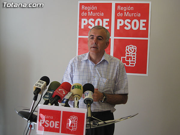 EL PSOE PIDE EXPLICACIONES A MARTINEZ ANDREO SOBRE UNA PRESUNTA GRABACIÓN COMPROMETIDA PARA JUAN MORALES, Foto 1