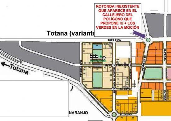 Proponen la construcción de una rotonda en la confluencia del Polígono Industrial, con el Camino del Torrejón y la vía que lleva a la Ceña del Hierro., Foto 1