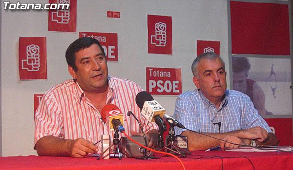 EL PSOE INSISTE EN QUE EL PLAN GENERAL DE ORDENACI�N URBANA ES UNA CHAPUZA Y QUE LO TENDR�N QUE CAMBIAR, Foto 1