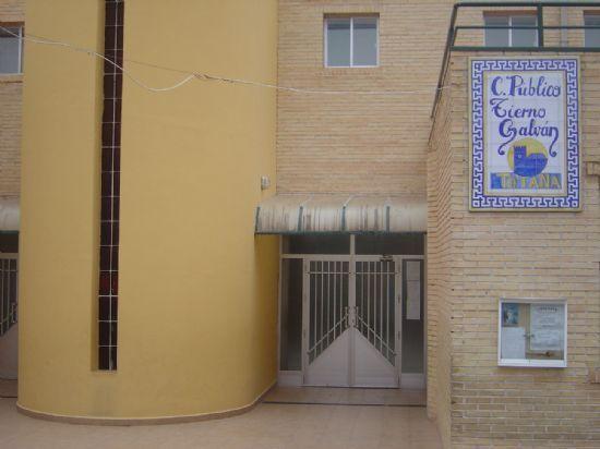 """EL """"AULA ABIERTA"""" DEL C.P. TIERNO GALVÁN, ENTRE LAS TRES PIONERAS DE TODA LA REGIÓN, SE INAUGURARÁ EN SEPTIEMBRE PARA EVITAR QUE ALUMNOS CON NECESIDADES EDUCATIVAS ESPECIALES SE DESPLACEN A LORCA O MAZARRÓN, Foto 1"""