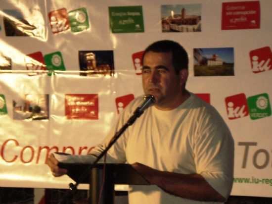 IU + LOS VERDES EXIGE RESPONSABILIDADES AL CANDIDATO DEL PP POR EL VARAPALO DE LA JUNTA ELECTORAL, QUE LE HAN PARALIZADO LA INAUGURACIÓN DE LA CIUDAD DEPORTIVA POR SER UN ACTO ILÍCITO EN CAMPAÑA, Foto 5