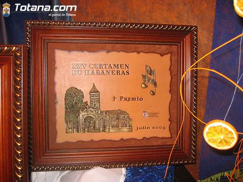XXV Certamen Nacional de Habaneras Totana 2005, Foto 1