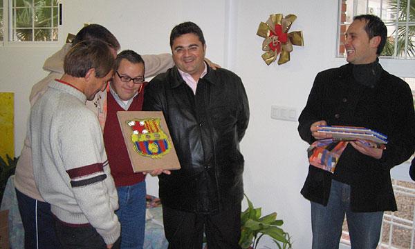 LA PEÑA BARCELONISTA DE TOTANA SOLIDARIA, Foto 2