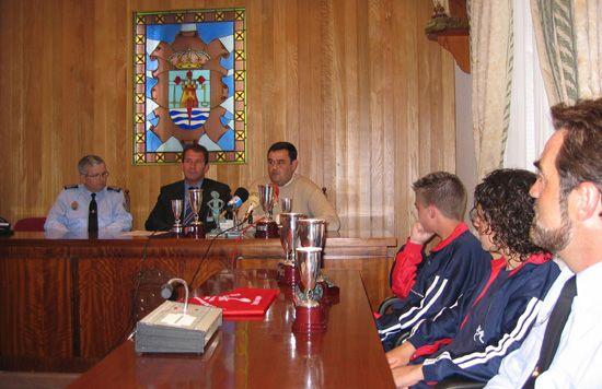 RECEPCIÓN ALUMNOS PARTICIPANTES EN EL CONCURSO NACIONAL DE EDUCACIÓN VIAL, Foto 1