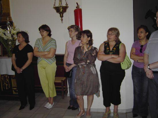 LOS TRABAJADORES MUNICIPALES REALIZAN UNA OFRENDA FLORAL A LA IMAGEN DE SANTA RITA CON MOTIVO DE LA FESTIVIDAD DE SU PATRONA, Foto 2