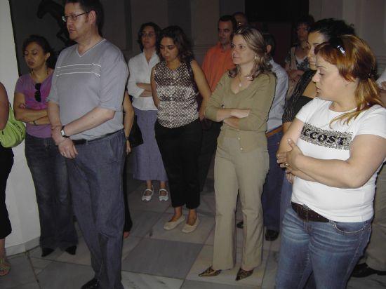 LOS TRABAJADORES MUNICIPALES REALIZAN UNA OFRENDA FLORAL A LA IMAGEN DE SANTA RITA CON MOTIVO DE LA FESTIVIDAD DE SU PATRONA, Foto 3