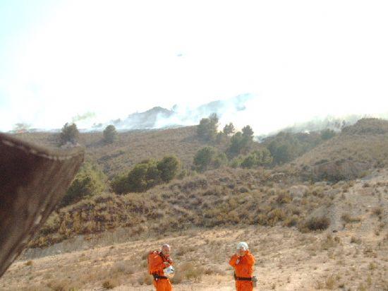 INCENDIO EN LA SIERRA DE LAS HERRER�AS, Foto 9