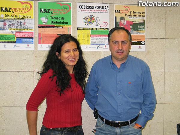 """LAS ACTIVIDADES DEPORTIVAS PRESENTADAS BAJO EL TÍTULO """"HAZ DEPORTE HAZ SALUD"""" ORGANIZADAS CON MOTIVO DE LAS FIESTAS DE SANTA EULALIA ARRANCAN EL DOMINGO CON EL """"DÍA DE LA BICILETA"""" (2007), Foto 1"""