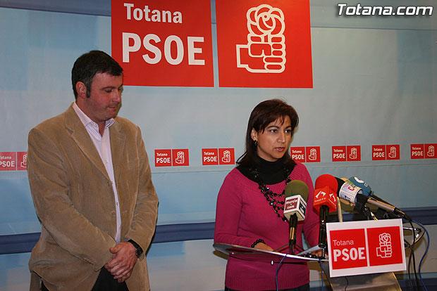 EL PSOE LANZA UN MENSAJE DE TRANQUILIDAD FRENTE AL CATASTROFISMO DEL PARTIDO POPULAR, Foto 1