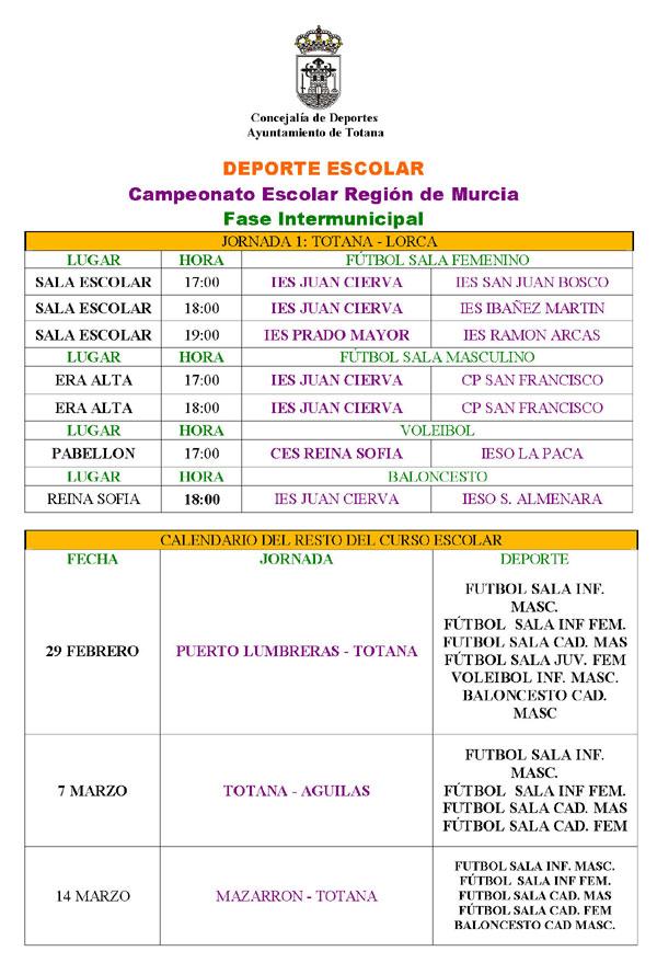AGENDA DEPORTIVA 23 y 24 DE FEBRERO 2008, Foto 2