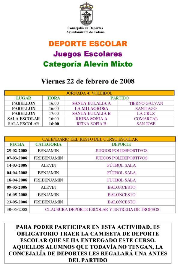 AGENDA DEPORTIVA 23 y 24 DE FEBRERO 2008, Foto 3