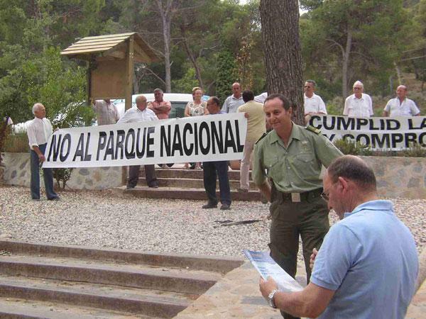 LOS PROPIETARIOS DE TERRENOS EN SIERRA ESPUÑA SE OPONEN A QUE ESTE ESPACIO NATURAL SE CONVIERTA EN PARQUE NACIONAL, Foto 1