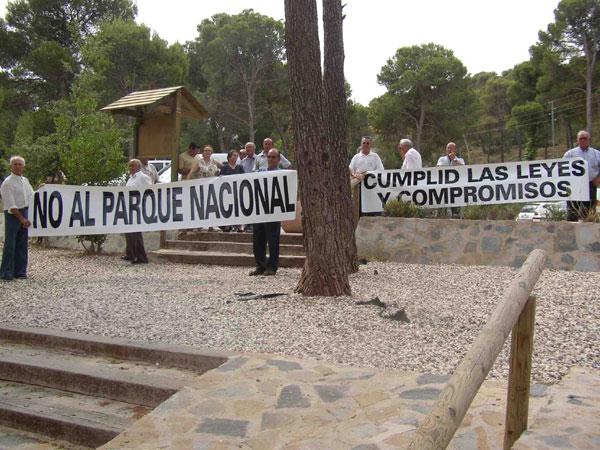 LOS PROPIETARIOS DE TERRENOS EN SIERRA ESPUÑA SE OPONEN A QUE ESTE ESPACIO NATURAL SE CONVIERTA EN PARQUE NACIONAL, Foto 2