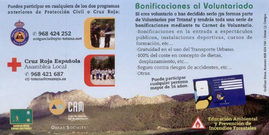 """PROMUEVEN LA CAMPAÑA DE SENSIBILIZACIÓN DEL PROGRAMA DE VOLUNTARIADO AMBIENTAL """"VOLCAM: APUESTA POR TU MEDIO, ÚNETE A NOSOTROS"""" A TRAVÉS DE PROTECCIÓN CIVIL Y CRUZ ROJA ESPAÑOLA, Foto 3"""