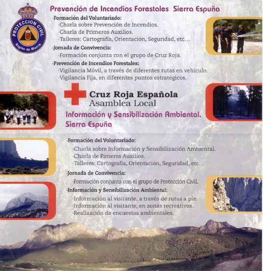 """PROMUEVEN LA CAMPAÑA DE SENSIBILIZACIÓN DEL PROGRAMA DE VOLUNTARIADO AMBIENTAL """"VOLCAM: APUESTA POR TU MEDIO, ÚNETE A NOSOTROS"""" A TRAVÉS DE PROTECCIÓN CIVIL Y CRUZ ROJA ESPAÑOLA, Foto 5"""