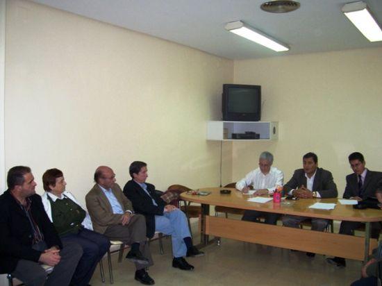 DIRIGENTES DE IU EN MURCIA SE ENTREVISTARON CON EL CANDIDATO DE LA IZQUIERDA EN ECUADOR, RAFAEL CORREA, Foto 2