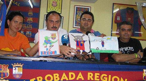 LAS RÉPLICAS DE LA CHAMPIONS LEAGUE Y LA COPA DE LA LIGA DEL FC BARCELONA ESTARÁN EN TOTANA EL DÍA 25 DE JUNIO EN UNA JORNADA DE CONVIVENCIA DE PEÑAS BARCELONISTAS DE LA REGIÓN DE MURCIA, Foto 2