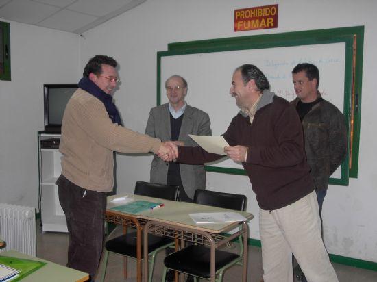 EL CONCEJAL DE DEPORTES CLAUSURA EL CURSO DE ÁRBITROS DE FÚTBOL Y FÚTBOL-7 EN LA SALA ESCOLAR  , Foto 3