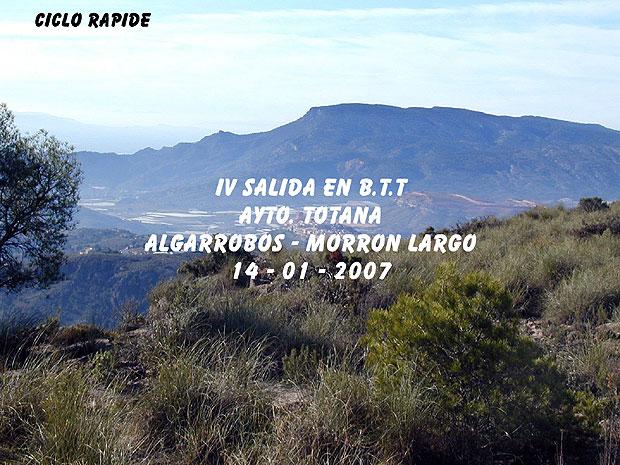 IV SALIDA EN B.T.T. AYTO- TOTANA, Foto 1