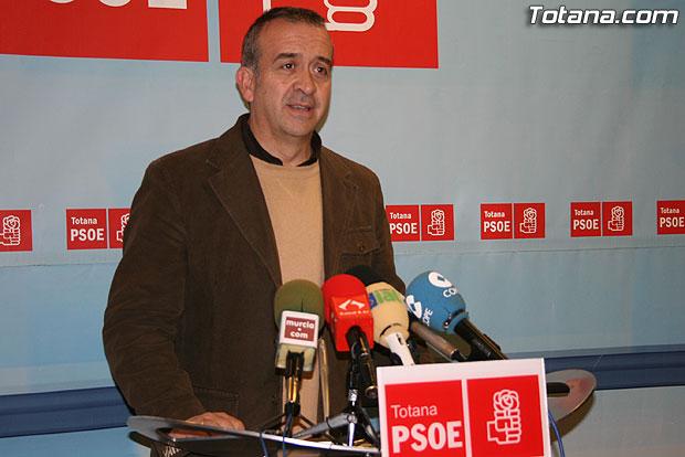 EL PSOE EXIGE A MART�NEZ ANDREO DAR EXPLICACIONES AL PUEBLO DE TOTANA DE TODO LO QUE HA PASADO Y EST� PASANDO, Foto 1
