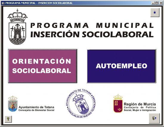 DESARROLLAN UNA APLICACI�N DE BASE DE DATOS PARA LA GESTI�N DEL PROGRAMA MUNICIPAL DE INSERCI�N SOCIOLABORAL, Foto 1