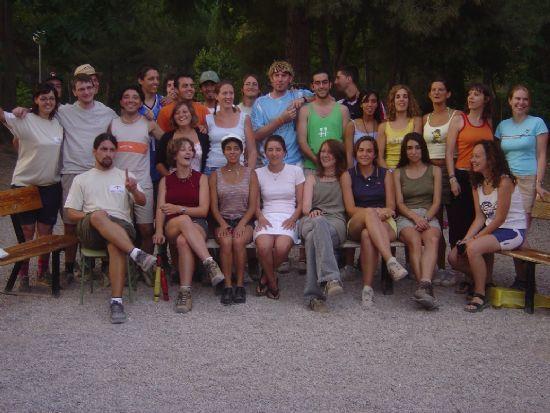 25 JÓVENES DE TODA EUROPA PARTICIPAN CAMPO TRABAJO MEDIOAMBIENTAL INTERNACIONAL LAS ALQUERÍAS EN SIERRA ESPUÑA   , Foto 1