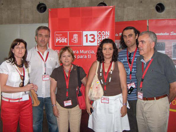 Alfonso Martínez Baños, nombrado Secretario de Ordenación del Territorio y Vivienda en el 13 Congreso de los Socialistas Murcianos, Foto 1