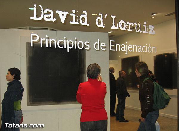 David d´Loruiz inauguó su primera muestra individual en Murcia bajo el título de Principios de Enajenación, Foto 1