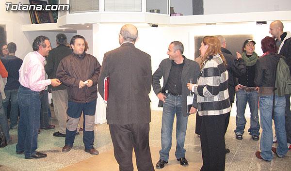 David d´Loruiz inauguó su primera muestra individual en Murcia bajo el título de Principios de Enajenación, Foto 4