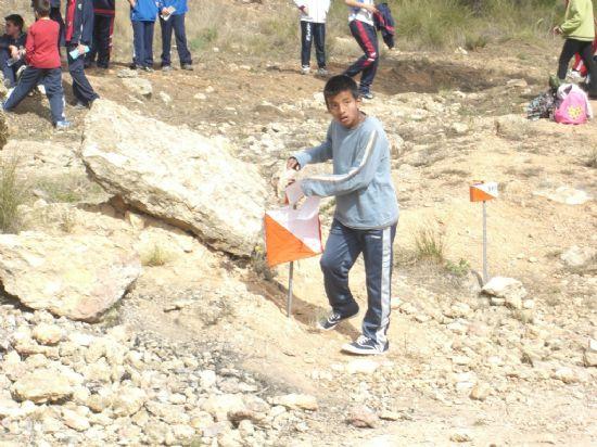 LA SEGUNDA JORNADA DEL CAMPEONATO REGIONAL ESCOLAR DE ORIENTACI�N, QUE SE DESARROLL� EN LA SIERRA DE LA MUELA DE ALHAMA, CONT� CON LA PARTICIPACI�N DE 20 ESCOLARES DE TOTANA (2008), Foto 5
