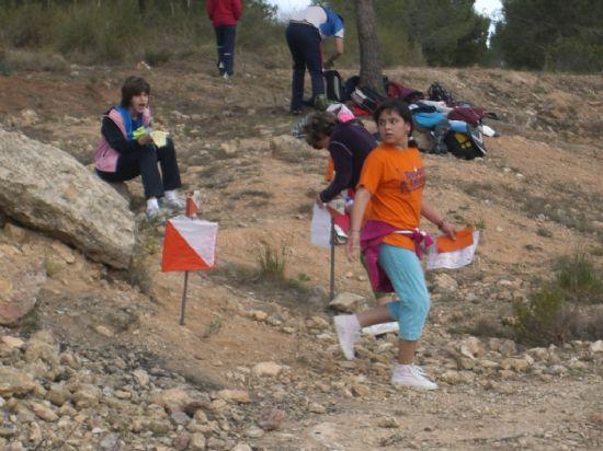 LA SEGUNDA JORNADA DEL CAMPEONATO REGIONAL ESCOLAR DE ORIENTACI�N, QUE SE DESARROLL� EN LA SIERRA DE LA MUELA DE ALHAMA, CONT� CON LA PARTICIPACI�N DE 20 ESCOLARES DE TOTANA (2008), Foto 6