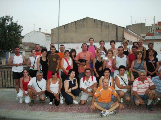 MÁS DE UN CENTENAR DE PERSONAS PARTICIPA CADA MIÉRCOLES EN LAS CAMINATAS NOCTUNAS (2008), Foto 1