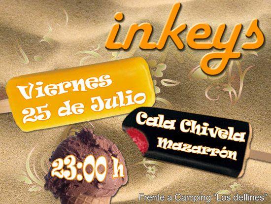 EL GRUPO TOTANERO INKEYS, EN DIRECTO A PIE DE PLAYA., Foto 1