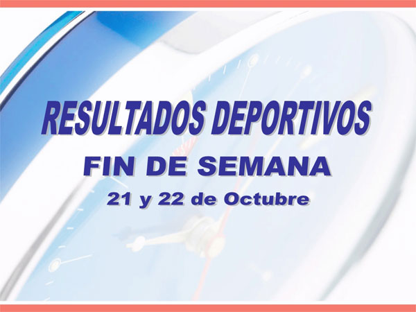 RESULTADOS DEPORTIVOS (23/10/2006), Foto 1