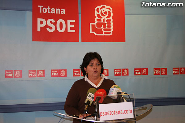 EL PSOE OFRECIÓ UNA RUEDA DE PRENSA PARA INFORMAR SOBRE LAS MOCIONES QUE PRESENTARÁN EN EL PRÓXIMO PLENO, ENTRE OTROS ASUNTOS, Foto 1