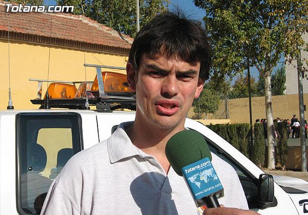 SIMULACRO DE EVACUACI�N DE INCENDIO EN EL COLEGIO SANTIAGO DE TOTANA, Foto 5