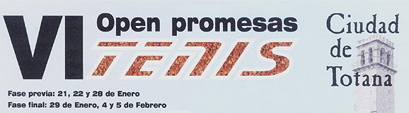 VI OPEN PROMESAS CIUDAD DE TOTANA, Foto 1